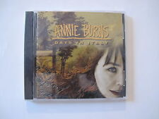 ANNIE BURNS Days In Italy CD EXCELLENT FOLK ROCK MELODIC BURNS SISTERS SEALED