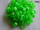 Green Chicken Leg Bands 22mm Chicken Rings 001-100 Numbered