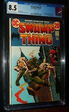 SWAMP THING #2 1973 DC Comics CGC 8.5 VF+
