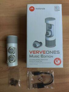 GENUINE Motorola VerveOnes Verve One Music Edition BT Wireless Earbuds Excellen