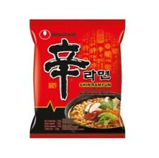 1 Paquet Nong Shim Shin Ramyun Sharp Instant Soupe de Nouilles 1x120g