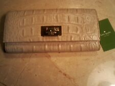 """KATE SPADE """"Cyndy Wallet"""" Orchard Valley Group Color """"Sidewalk"""" MSRP:  $228.00"""