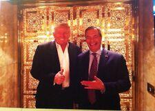 Nigel Farage E DONALD Trump biglietti d'auguri per tutte le occasioni