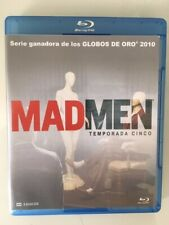 Mad Men - Series 5 Blue Ray, Spanish and English language, very good condition