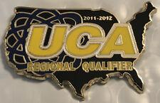 United Cheerleading Association Pin Uca Cheerleader Regional Qualifier 2011/12