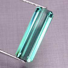 2.98CT Ravishing Color! 100%Natural Unheated Green-Blue Tourmaline #2