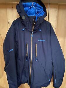 Patagonia Insulated Powder Bowl Ski jacket mens L Blue