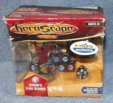 HEROSCAPE CREST OF THE VALKYRIE UTGAR'S FLAG BEARER TOYS R US EXCLUSIVE