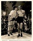 GA117 1938 Original Photo ERROL FLYNN Handsome Hollywood Actor Boxing Fighter