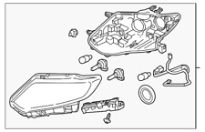 Genuine Nissan Headlamp Assembly 26060-6FL0A