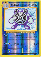 Poliwhirl Uncommon Reverse Holo Pokemon Card XY12 Evolutions 24/108