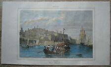 1848 print MALTA: VALLETTA (#7)