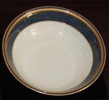 Mikasa Grande Ivory VEGETABLE BOWL Porcelain Gold Imperial Lapis Presidential