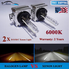 HID D1S 6000K 2PCS 35W Xenon Bulb Head Light Replacement for Philips or Osram