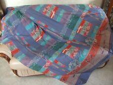 Granfoulard Bassetti FENG 180x270 sofa cover tenda copridivano blu rosso telo