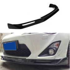 FRP Black Front Lip Chin Spoiler Fit for Toyota 86 FT86 GT86 Scion FR-S 13-14