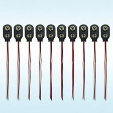 10 pcs of 9v Battery Snap Connector (Battery Connector Cap)