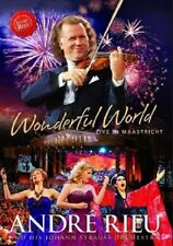 ANDRE RIEU WONDERFUL WORLD DVD (Released 2015)