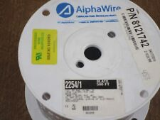 AlphaWire   AWG Slate - New    respooled  500ft   Spool  - P/N 78152