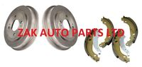 VAUXHALL ASTRA G MK4 1.4 1.6 1.7 DTi 1.8 2.0 16v REAR BRAKE DRUMS AND SHOES SET