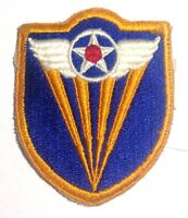 AAF WWII 4th Air Force Shoulder Patch Sleeve Insignia ORIGINAL Vintage