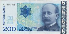 More details for p48a 2006 norway 200 kroner banknote in near mint condition.