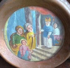 Gesù al Tempio  olio su tela seicentesco