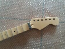 Full scalloped Guitar Neck for ST Replacement 24 Fret Maple