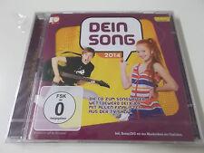 DEIN SONG 2014 (CD & DVD SET) - POLYSTAR & KIKA - NEU (0602537751471)