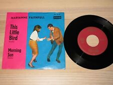 "Marianne Faithfull 7 "" Single - This Little Bird/German Bronze Decca in VG+"