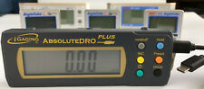 iGaging Absolute DRO Digital Readout for use with angle cube and torpedo level.