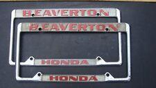 Beaverton Honda of Beaverton , Oregon License Plate Frame