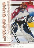 2000-01 Upper Deck Hockey #433 David Aebischer YG RC Colorado Avalanche