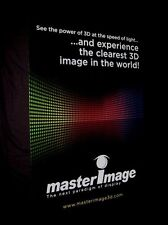 Original 2012 MASTERIMAGE 3D 2 Sided Theatre Poster GREAT FOR A HOME THEATER