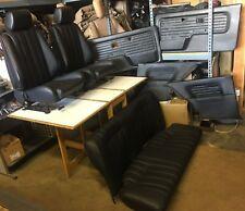 BMW e30 325/318 New Black IS & I Seats Set & OEM Door Cards  (1982-91)$2700.00
