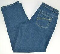 Liz Claiborne Women's Straight Leg Blue Jeans 10
