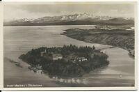 Ansichtskarte Insel Mainau - Luftaufnahme - Bromsilberaufnahme - s/w