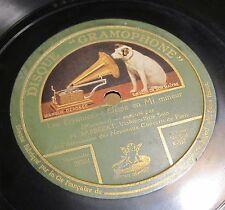 CELLO 78 RPM BARBEZAT Werther Solo du Clair de Lune / Massenet Les Erynnies