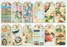 Rice Paper for Decoupage Decopatch Scrapbook Craft Sheet Shabby ChickTags
