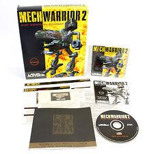 MechWarrior 2: 31st Century Combat by Activision, 1995, BattleMech, Simulation