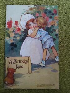 Agnes Richardson Signed PC, A Birthday Kiss, Celesque Series.