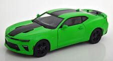 1:18 Ertl/Auto World Chevrolet Camaro SS 2017 lightgreen/black