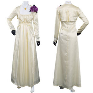 Resident Evil Village Alcina Dimitrescu Cosplay Costume Outfits Halloween Suit