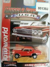 aw 1970 Red With White Stripe Chevelle ultra g slot cars ho