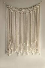 Macrame Wall Hanging Decorative Boho Woven Wall Hanging Art for Modern Apartment