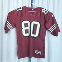 Vintage Starter San Francisco 49ers Jerry Rice #80 Red Size 48 NFL Jersey