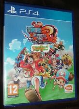 One Piece Unlimited World Red Deluxe Edition Playstation 4 PS4 NEW SEALED