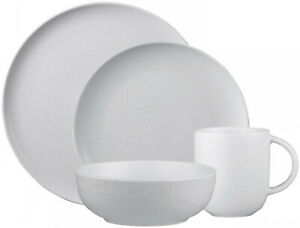 QUEENS JAMIE OLIVER WHITE 16 PIECE DINNER SET - BRAND NEW/UNUSED