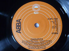 "ABBA ~ CHIQUITITA ~ NEAR MINT 1979 UK 7"" DISCO/POP VINYL SINGLE ~ GREAT AUDIO"