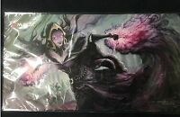 MTG Liliana Mourning Playmat Limited Sale to 2019 Japan Championships from japan
